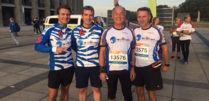 Das Wolfram Racing Team beim B2RUN Berlin 2016